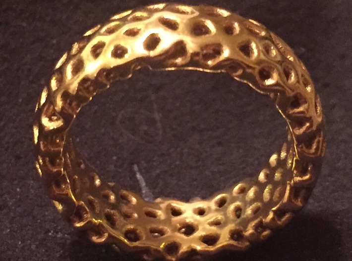 Cellur Ring Size 6 3d printed