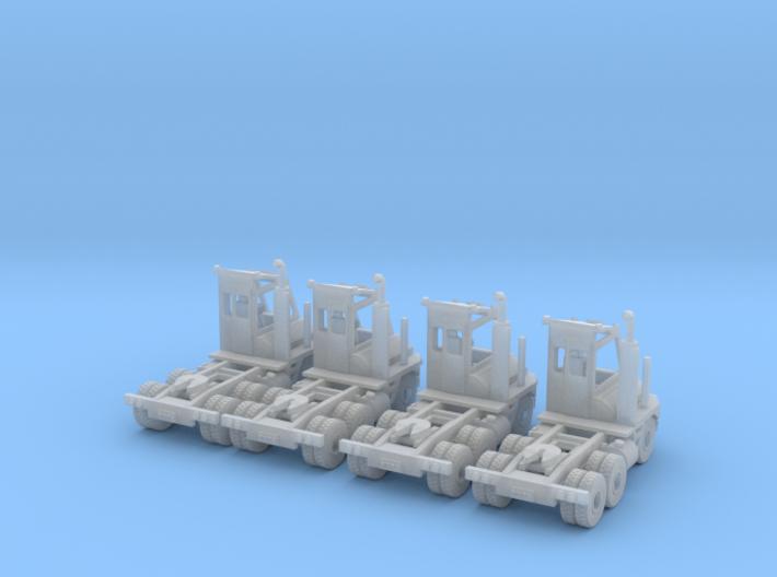 Yard Mule TJ6500DOT Z Scale 3d printed 4 Yard Mules Z scale