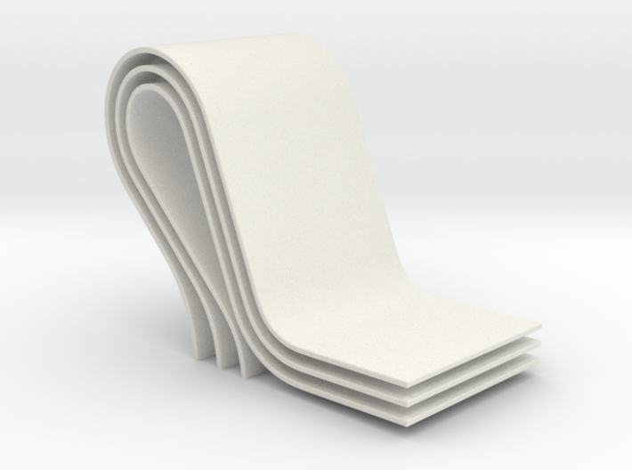 curves A (large) 3d printed