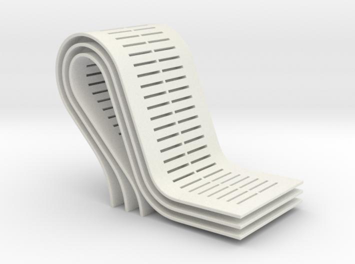 curves B (large) 3d printed