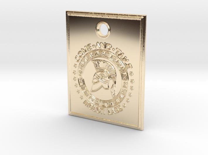 Molon Labe Spartan Pendant 3d printed