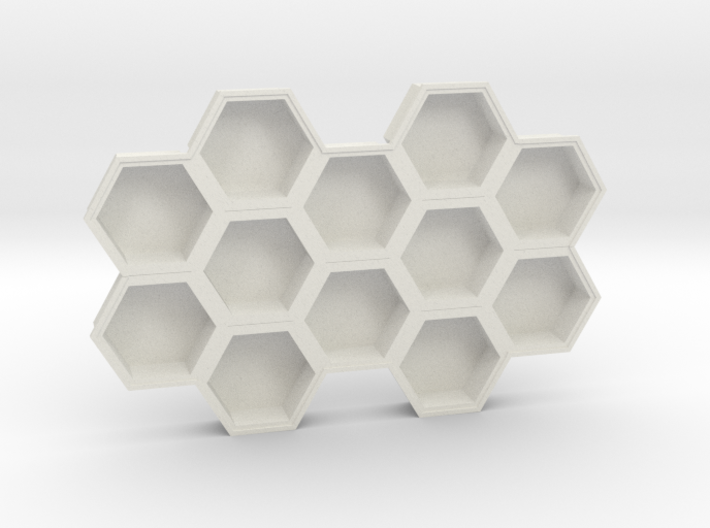 Beehive ice tray 3d printed
