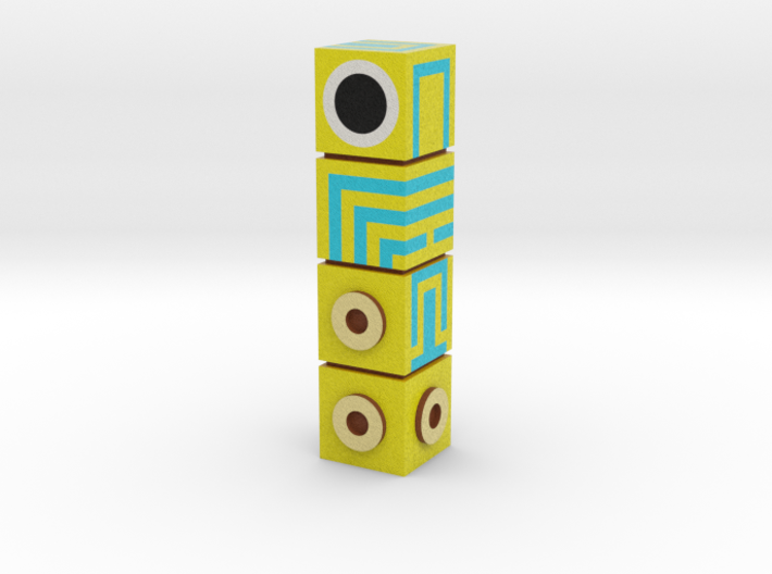 Monument Valley Totem Figurine 3d printed