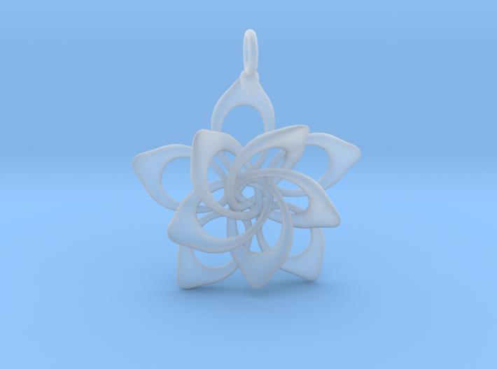 Petal Rings 5 Points - 2 Tiers - 3cm - wLoopet 3d printed