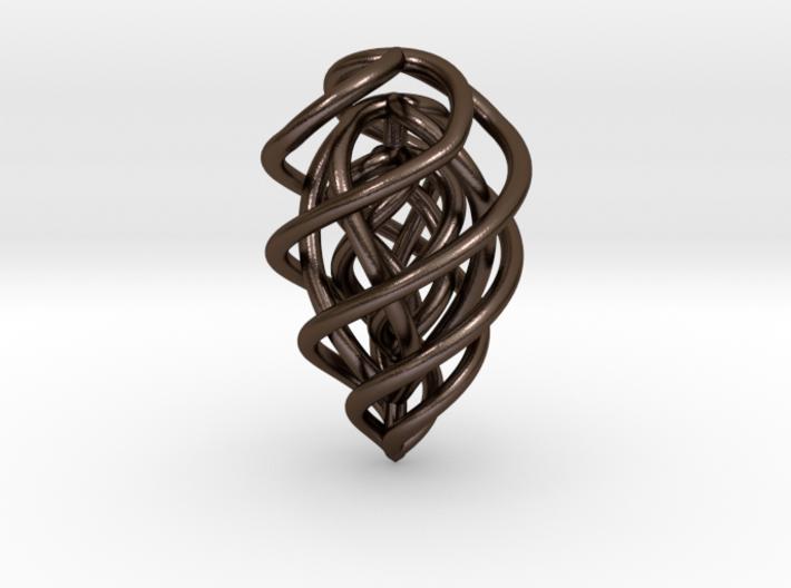 Flame Pendant 3d printed