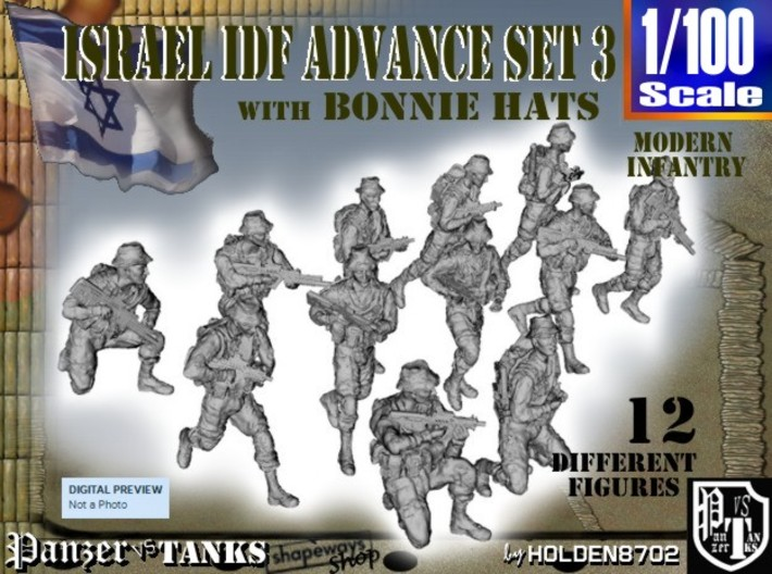 1-100 IDF BONNIE ADVANCE SET 3 3d printed