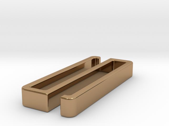 Belt clip, open model. Type 35x5. 3d printed