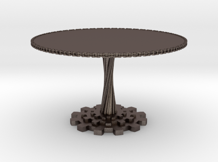 1:12 scale miniature industrial art table 3d printed