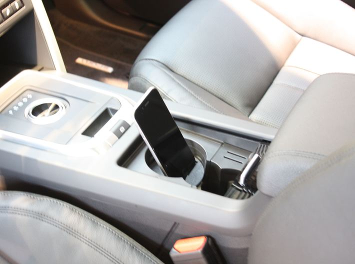 Land Rover iPhone 5/6/7/8/X Adapter cradle holder 3d printed Land Rover Evoque iPhone 5, 6 , 6 Plus adapter mound dock cradle stand holder