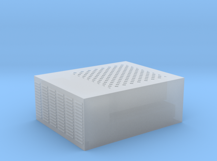 Roof AC Unit (HO Scale) 3d printed