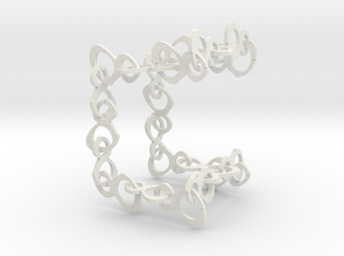 24 inch Eights Rotated (for printing) Necklace 3d printed