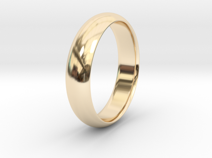 Wedding ring 3d printed