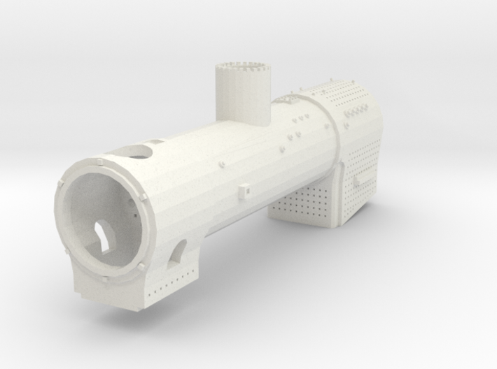 Rusty boiler (British N 1:148) 3d printed