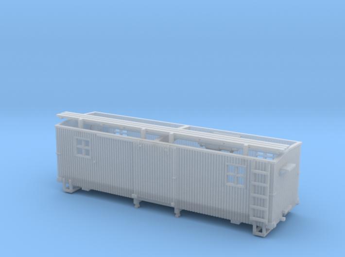 HOn3 MOW Boxcar A 3d printed