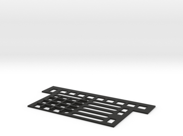 F22 HUD Control Plate 3d printed