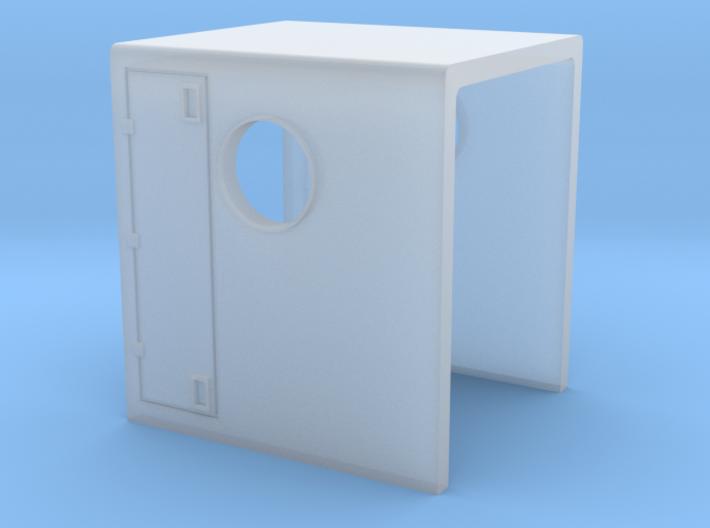 N Scale GP9B Hood Section 3d printed