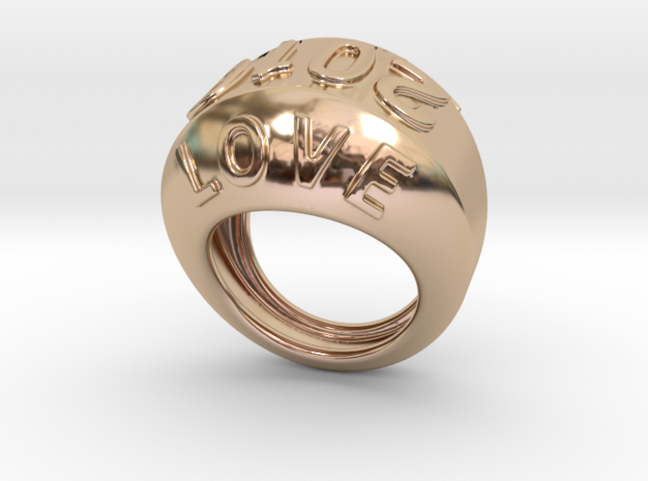 2016 Ring Of Peace 27 - Italian Size 27 3d printed