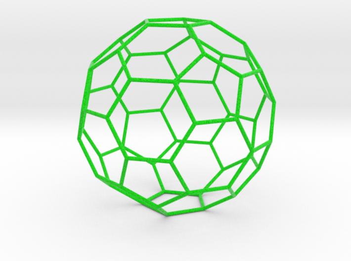0379 Truncated Icosahedron E (21.0 см) #008 3d printed