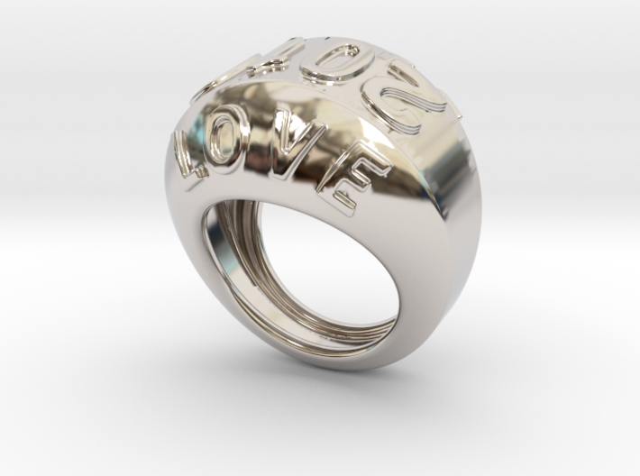 2016 Ring Of Peace 29 - Italian Size 29 3d printed