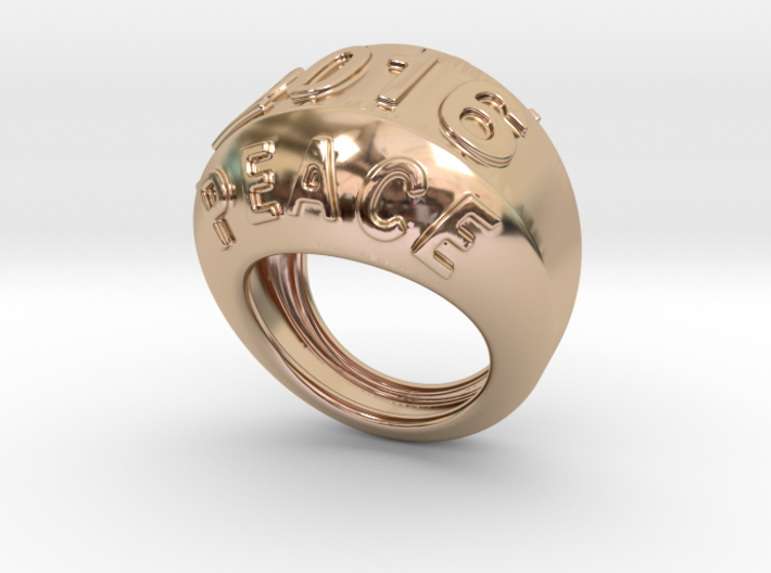 2016 Ring Of Peace 31 - Italian Size 31 3d printed