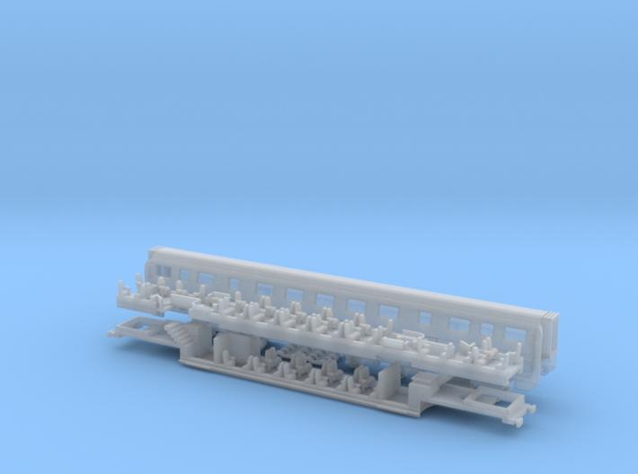 cmz - IC2000 -A- Ergänzungswagen 3d printed