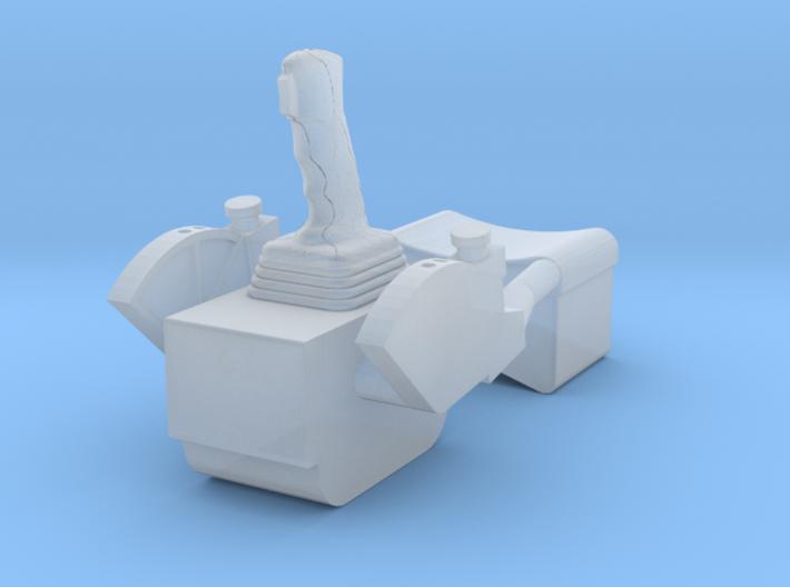 F12D-Unfolded ATCA Armrest-CDR & LMP sides 3d printed