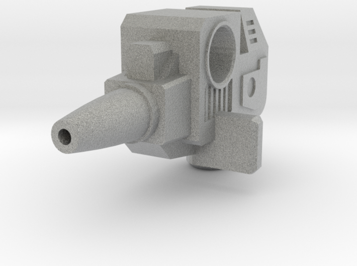 Override Weapon Parts 3d printed