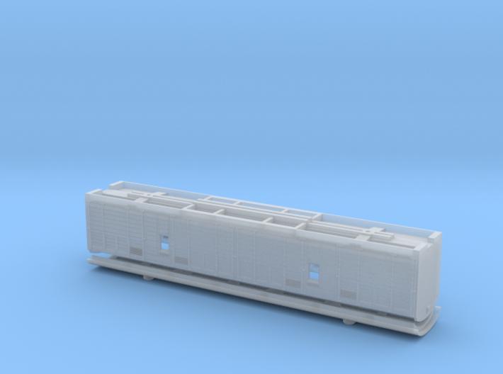Bogie Horsebox N Scale 3d printed