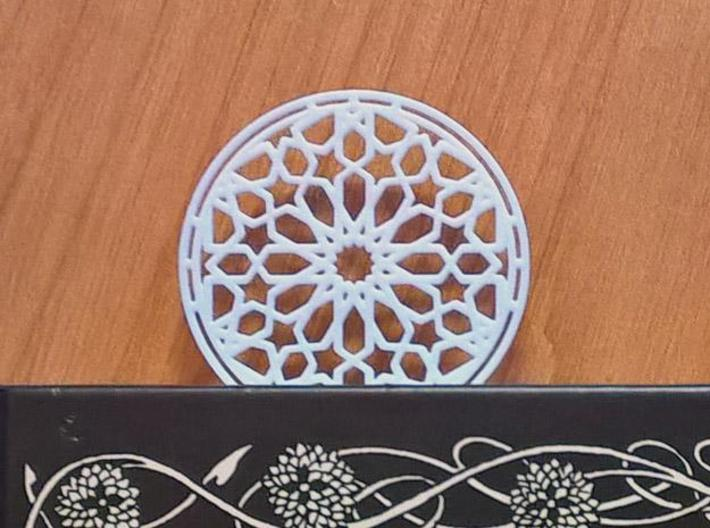 Mudejar Bookmark 3d printed White Strong & Flexible Polished