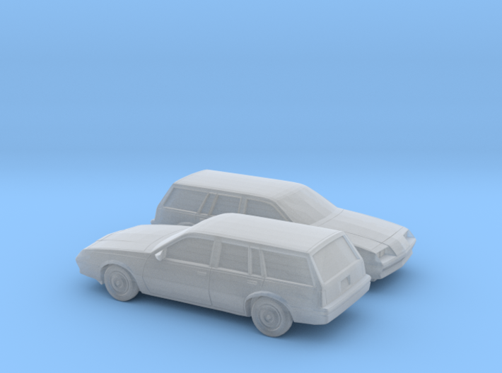 1/160 2X 1981-83 Buick Skyhawk Station Wagon 3d printed