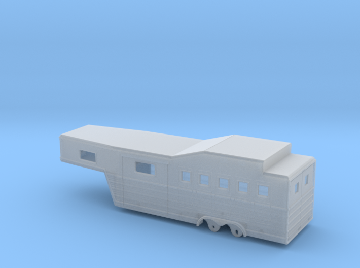 1/64th 28' 'Bloomers' type Horse Trailer 3d printed