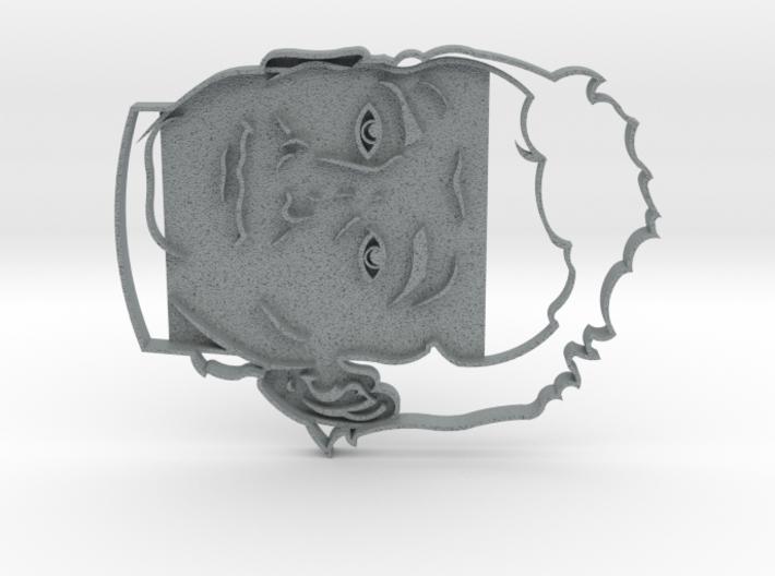 Bill Murray Cookie Cutter 3d printed