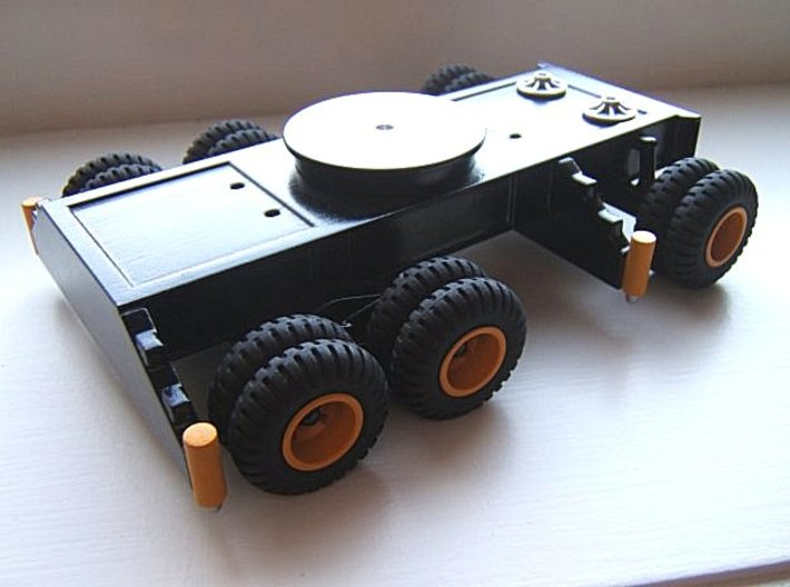 Maxi Carrier SWB Chassis 1X 3d printed