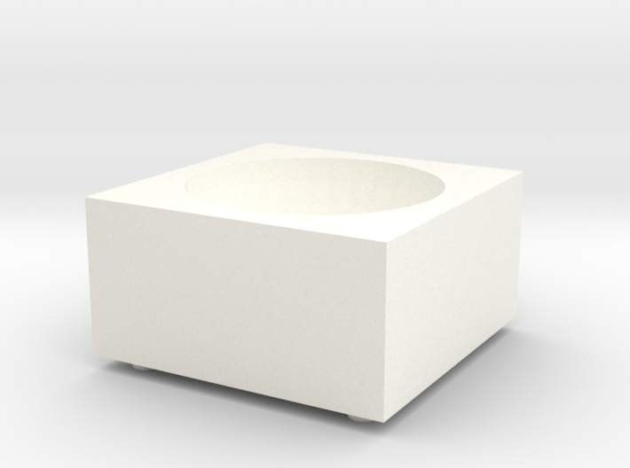 Porcelain Salt Cellar 3d printed