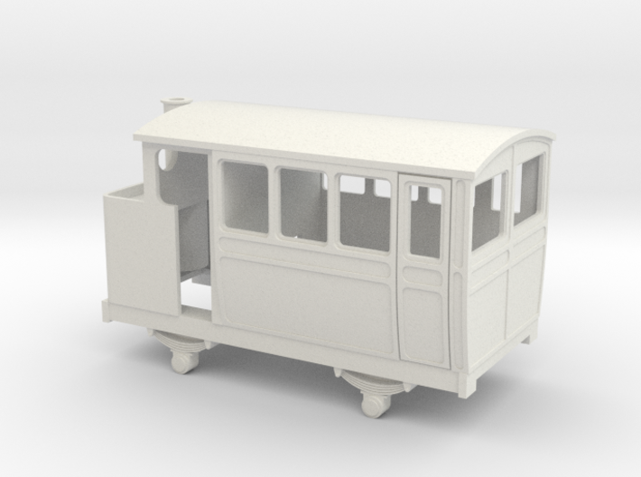 009 VB 4w steam railcar / inspection car 3d printed