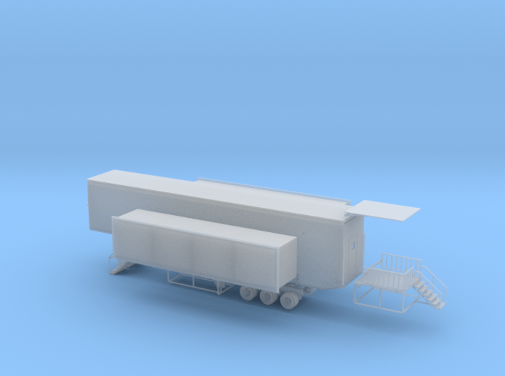 N 53' Drop Floor Trailer v3 3d printed