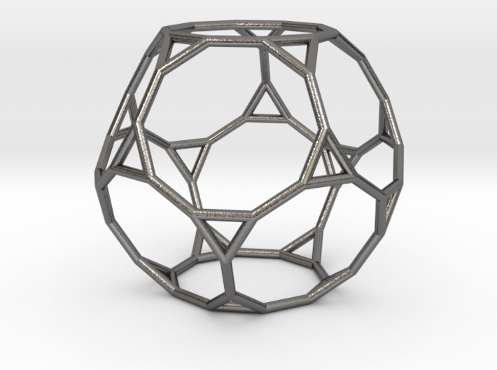 0270 Truncated Dodecahedron E (a=1cm) #001 3d printed