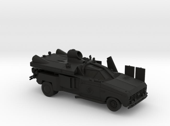 "Buckaroo Banzai Jet Car MK III - 1:25 Scale - 9.5"" 3d printed"