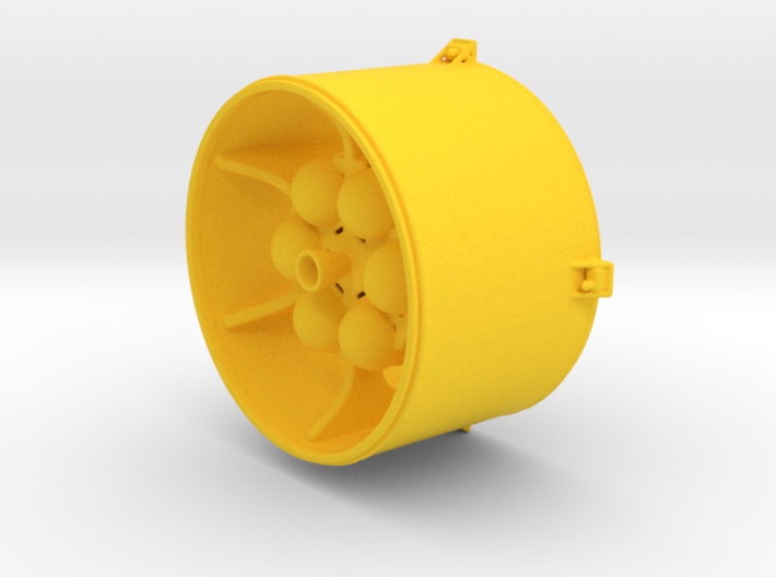 LISA Propulsion Module, 1/58 scale 3d printed