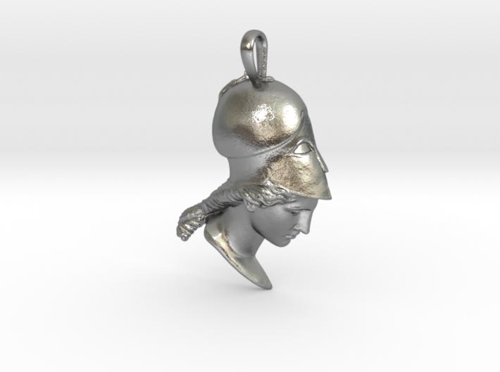 Athena of Velletri, pendant 3d printed