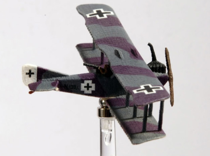 """A.E.G. N.I (various scales) 3d printed Photo and paint job by Alex """"Prodromoi"""" @ wingsofwar.org"""