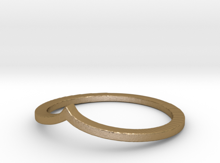 Arrow Stacking Ring 3d printed