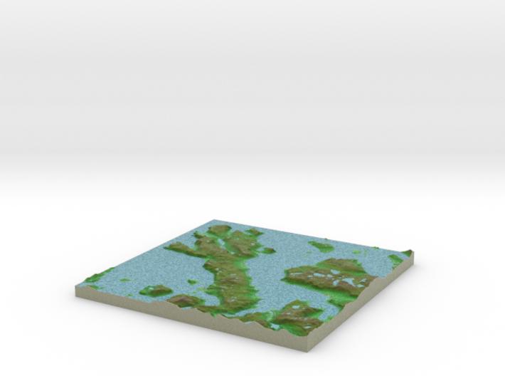 Terrafab generated model Thu Oct 15 2015 15:19:53 3d printed
