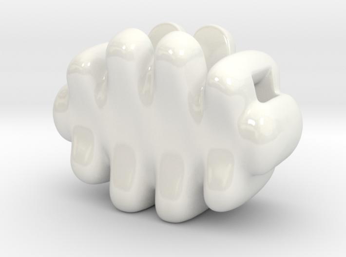 Palm-sized Cloud Vase 1 3d printed