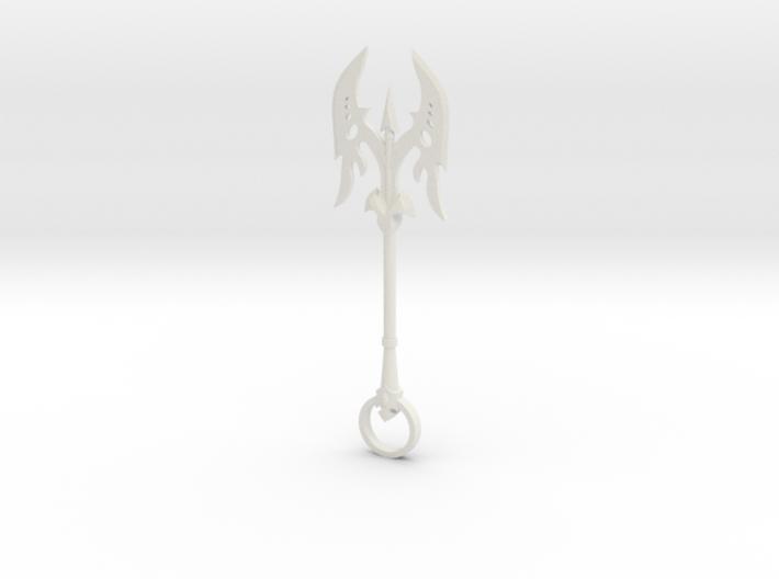 Axe Keychain 3d printed