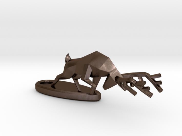 Combat Deer - Keychain 3d printed