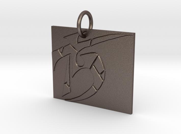 Broken Sigil Dark Eldar Keychain 3d printed