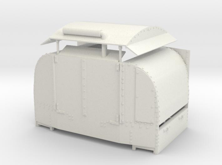 A-1-19-protected-simplex-one-door-open 3d printed