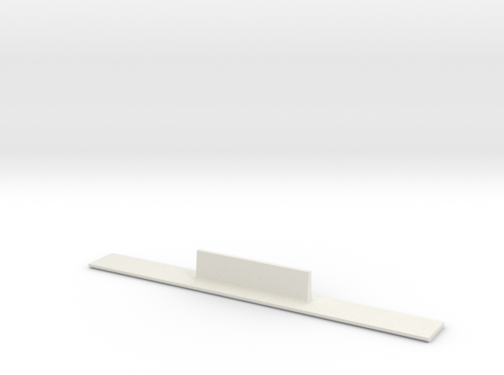 ME83-360R Curve Template HO Scale 3d printed