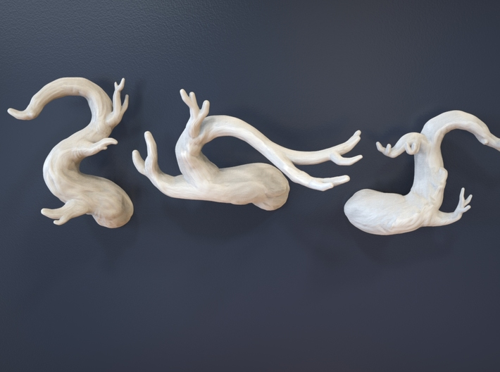 Tree Branch Wall Art - 02 3d printed Collect all three!